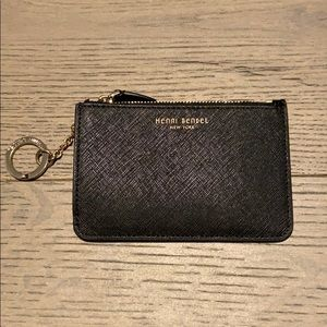 Henri Bender leather keychain coin pouch